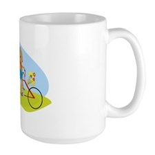 Squirrels on a Tandem Bike Mug