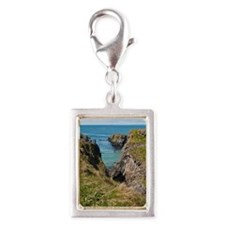 Carrick-a-Rede Rope Bridge Silver Portrait Charm
