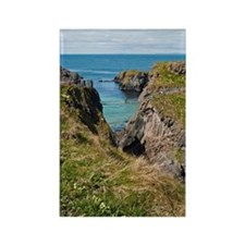 Carrick-a-Rede Rope Bridge Rectangle Magnet