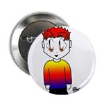 Rainbow Man Button