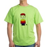 Rainbow Man Green T-Shirt