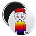 Rainbow Man Magnet