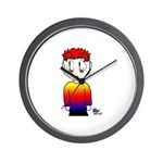 Rainbow Man Wall Clock