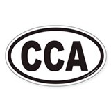CCA Euro Oval Decal