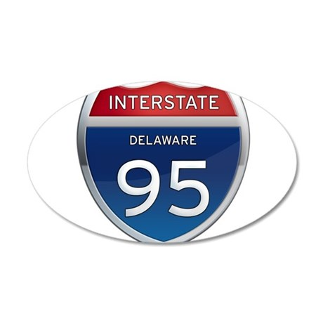 Delaware Interstate 95 Wall Decal