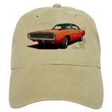 1970 Dodge Charger Red Baseball Cap