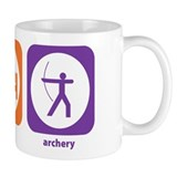 Eat Sleep Archery Small Mug