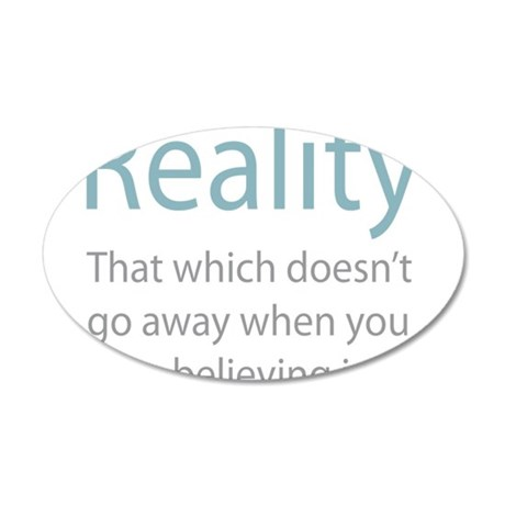 Reality 20x12 Oval Wall Decal