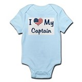 Captain: Flag Love Onesie
