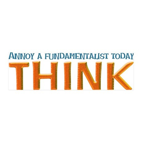 think 20x6 Wall Decal