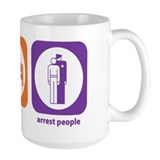 Eat Sleep Arrest Mug