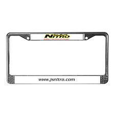 Nitro License Plate Frame