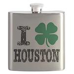 Houston Irish Flask