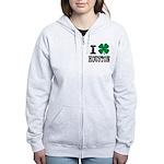 Houston Irish Zip Hoodie
