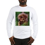 Fox Red Lab Pup Long Sleeve T-Shirt