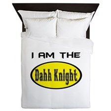 Dahk Knight Queen Duvet