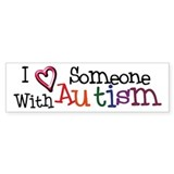 Autism Awareness Love Bumper Bumper Sticker