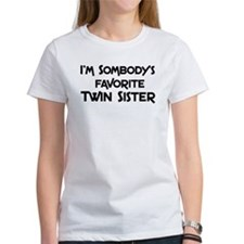 Favorite Twin Sister Tee
