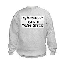 Favorite Twin Sister Sweatshirt