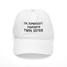 Favorite Twin Sister Baseball Cap