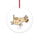 Doggy II Ornament (Round)