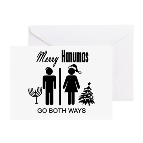 Go Both Ways Greeting Cards (Pk of 10)
