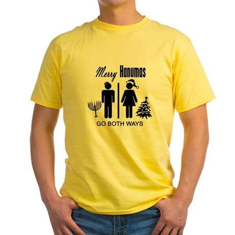 Go Both Ways Yellow T-Shirt