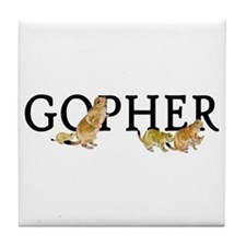 GOPHER Tile Coaster