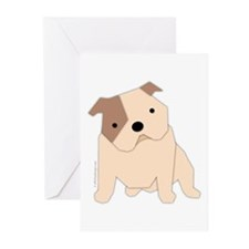 Bulldog! Greeting Cards (Pk of 10)