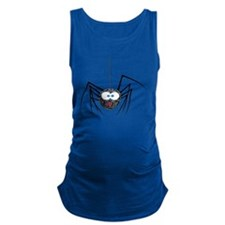 Hairy Spider Maternity Tank Top