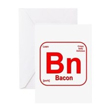 Bacon (Bn) Greeting Card