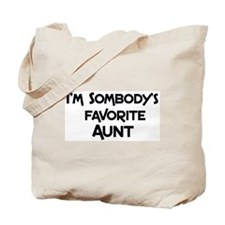 Favorite Aunt Tote Bag