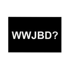 WWJBD Rectangle Magnet