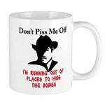 The gangsters warning Mug