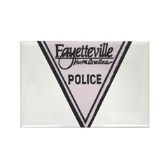 Fayetteville Police Rectangle Magnet (100 pack)