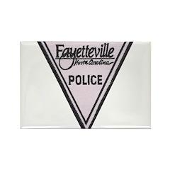 Fayetteville Police Rectangle Magnet (10 pack)