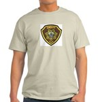 Boundry County Sheriff Ash Grey T-Shirt