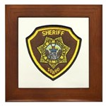 Boundry County Sheriff Framed Tile