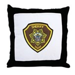 Boundry County Sheriff Throw Pillow