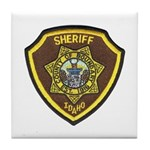 Boundry County Sheriff Tile Coaster