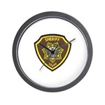 Boundry County Sheriff Wall Clock