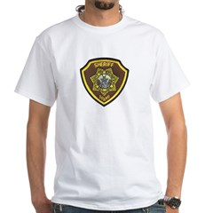 Boundry County Sheriff White T-Shirt