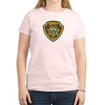 Boundry County Sheriff Women's Pink T-Shirt