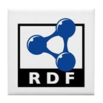 RDF Tile Coaster