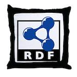 RDF Throw Pillow