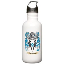 Murtha Coat of Arms - Family Crest Water Bottle