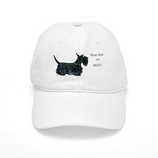 Mom's Scottish Terrier Baseball Cap