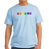 Rainbow Paws Ash Grey T-Shirt