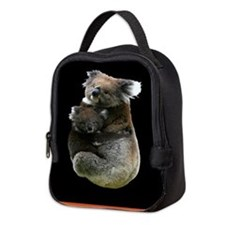 Aussie Koala Bear Cutout Photo Neoprene Lunch Bag
