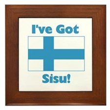Finnish Sisu Framed Tile